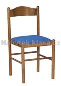 PISA  - Kuchyňská židle, potah Cagliari, Tara, moření ořech, přírodní