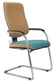 Vision Prokur - konferenční židle, potah fill, suedine