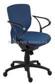 Ema Rektor - kancelářská židle, potah fill, suedine