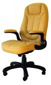 626E eko-kůže žlutá - Kancelářské křeslo