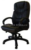 602E kůže černá - Kancelářké křeslo