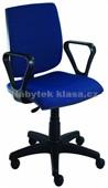 York Rektor - kancelářská židle – E-asynchro, potah fill, suedine
