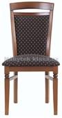 Bawaria DKRS II – židle, potah TK 1000, ořech vlašský