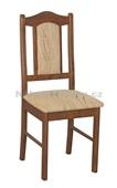 BOSS 7 - Kuchyňská židle, mahagon