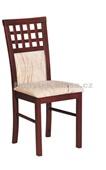 MILANO 3 – Kuchyňská židle, mahagon