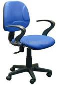 QZY-H6R – kancelářská židle, modrá