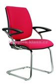 York Prokur - konferenční židle – RAL+chrom, potah fill, suedine