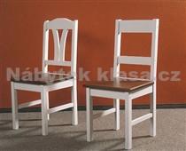 Židle II, přírodní