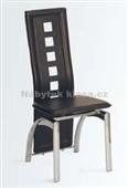 WE-5372 BK - jídelní židle, černá