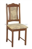 BOSS 5 - Kuchyňská židle, mahagon