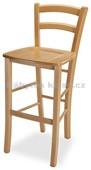 Venezia bar masiv - Jídelní židle, barva