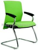 Reflex Prokur - konferenční židle – chrom – síť, potah fill, suedine