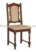 BOSS 1 - Kuchyňská židle, mahagon