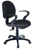 QZY-H6R – kancelářská židle, černá