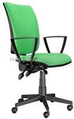Lara – kancelářská židle – E-asynchro, potah fill, suedine