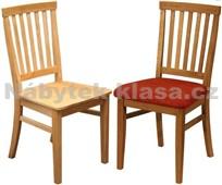 Z07 - Židle čalouněná i celodřevěná, dub