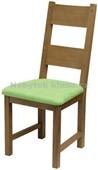 Z08 - Židle čalouněná, dub